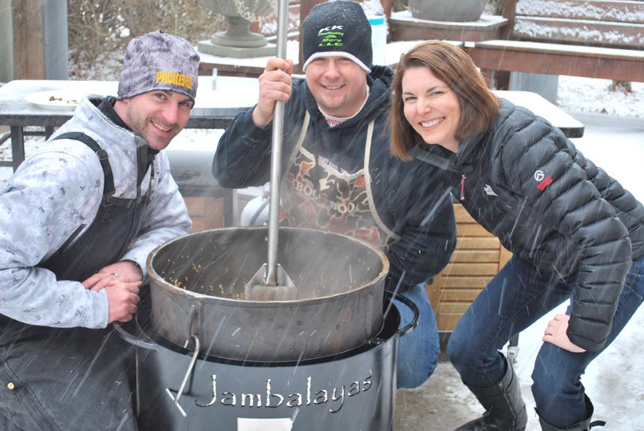 One Big Pot of Jambalaya! - The Cooking Mom