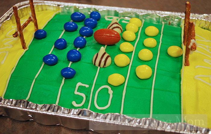 football field cake are you ready for some football the cooking 4309